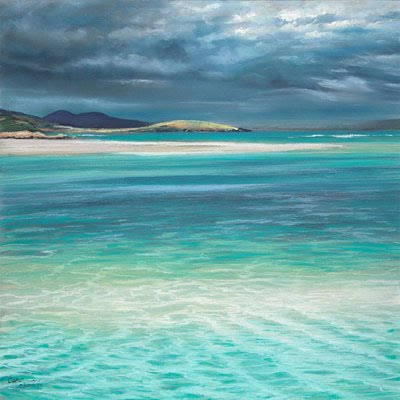 Luskentyre Blue by Caroline Cooke