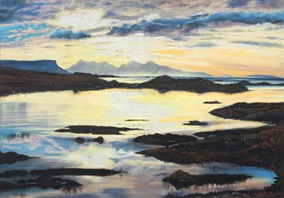 Arisaig Glow by Caroline Cooke