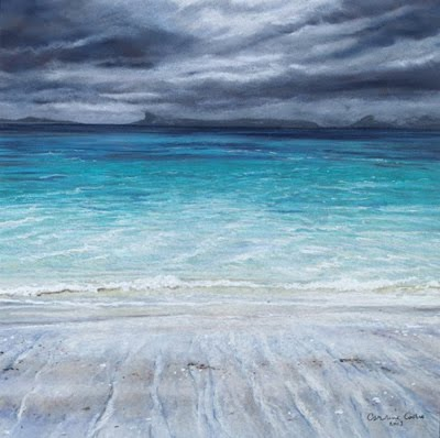 Camusdarach Shoreline by Caroline Cooke