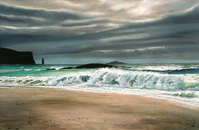 Sandwood Bay by Caroline Cooke