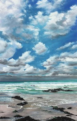 Breezy Shore by Caroline Cooke