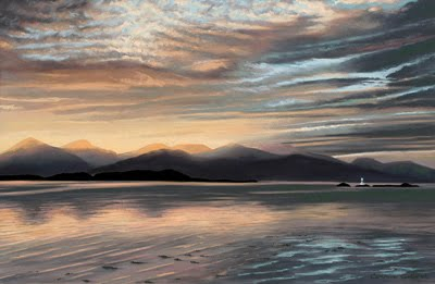Lighthouse, Port Appin by Caroline Cooke